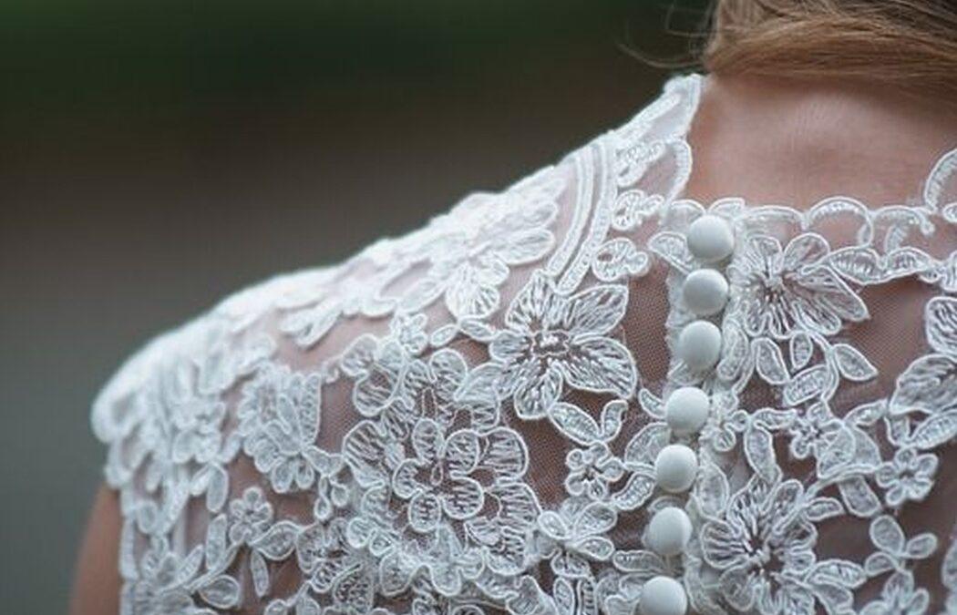 Los tejidos más usados en los vestidos de novia