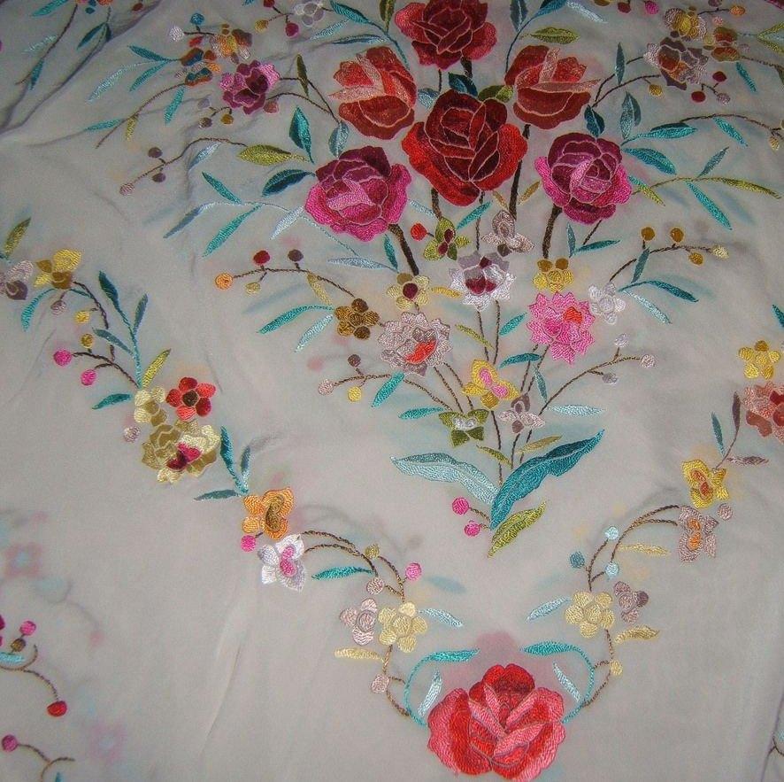 Tintorería en Madrid especialista en mantón de manilas