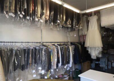 tintoreria Madid-Paris interior trajes